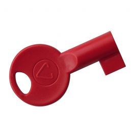 Red Plastic Fire Panel Key