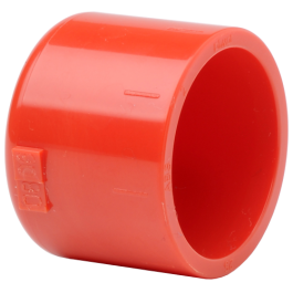 Red 25mm End Cap