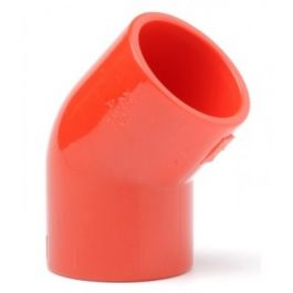 Red 25mm 45° Elbow