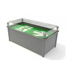 X-ESW LED Maintained Weatherproof Exit Box
