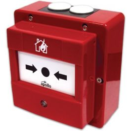 Apollo Waterproof Manual Call Point with Isolator (Red) - 58200-951