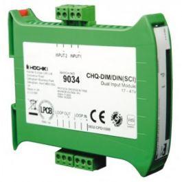 Hochiki Dual Input Module -DIN Enclosure with SCI - CHQ-DIM2/DIN(SCI)
