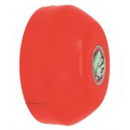 Hochiki Wall Beacon - Red Case- White LED - CHQ-WB(RED)WL
