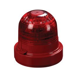 XPander Sounder Visual Indicator (Red) and Sounder Base (Red)