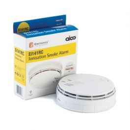 Aico 85db Mains Wired Ionisation Alarm with Battery Backup 230V