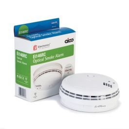 Aico 85db Mains Wired Optical Alarm with Battery Backup