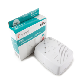 Aico RadioLINK Powered CO Alarm White
