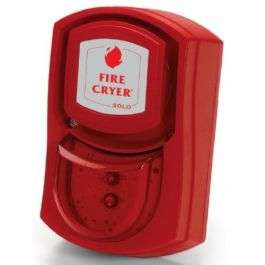 Vimpex Wall Mounted Fire-Cryer Shallow Base with Red Indicator
