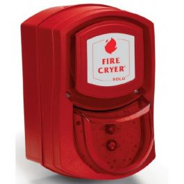Vimpex Wall Mounted Fire-Cryer Deep Base with Red Indicator