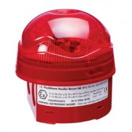 Vimpex Intrinsically Safe FlashDome Red Beacon ATEX