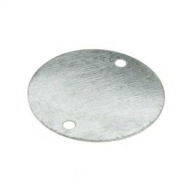 20mm Galvanised Box Lids (pk100)