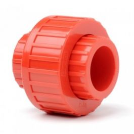 Red 25mm Socket Union