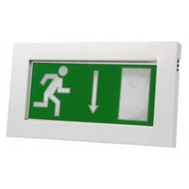 X-SLM LED Maintained Self Testing Slimline Exit Sign