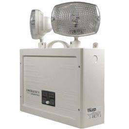 X-TSA LED Maintained Self Testing Weatherproof Twinspot - IP65