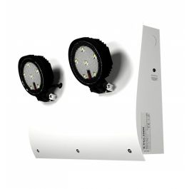 X-TSC LED Non Maintained Curved Twinspot